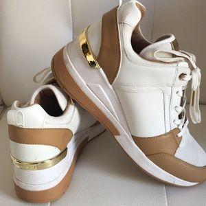Michael Kors Wedge Sneakers/Worn twice